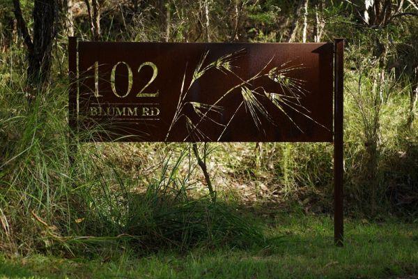 cutout-blumm-road-corten-steel-property-sign9AFF19BE-76DE-6CF1-562E-C3F5C2112F64.jpg